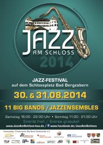 20140830 Plakat Jazz am Schloss BadBergzabern