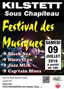 Festival des musiques 2016
