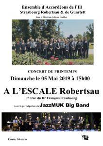 Ensemble d'accordéons de l'Ill @ L'Escale