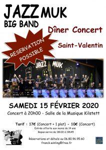 Concert de la St. Valentin 2021 - Soirée @ Salle de la Musique et de la Culture - Kilstett | Kilstett | Alsace | France